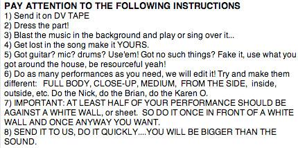 instruct