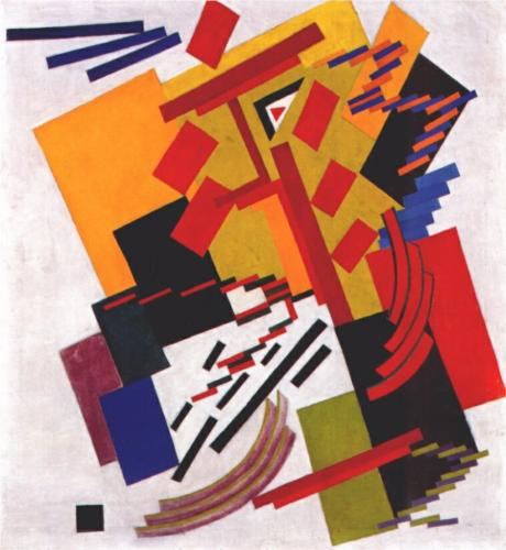 Non-Objective Composition (Suprematism), Olga Rozanova