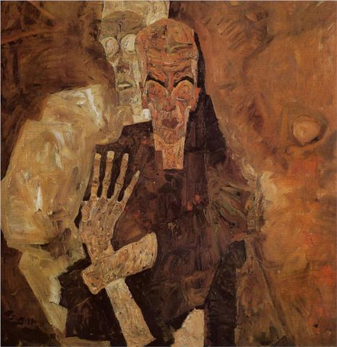 The Self Seers (Death and Man),  Egon Schiele