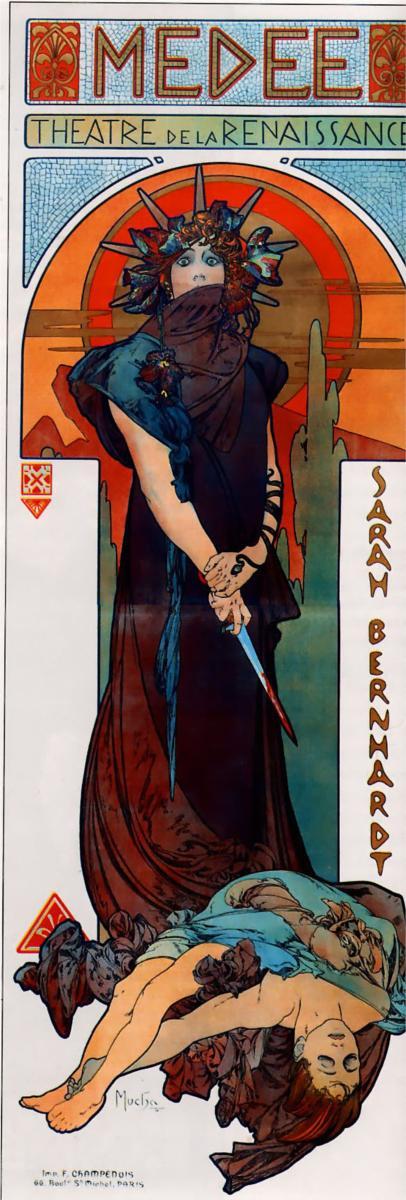 Medea, Alphonse Mucha