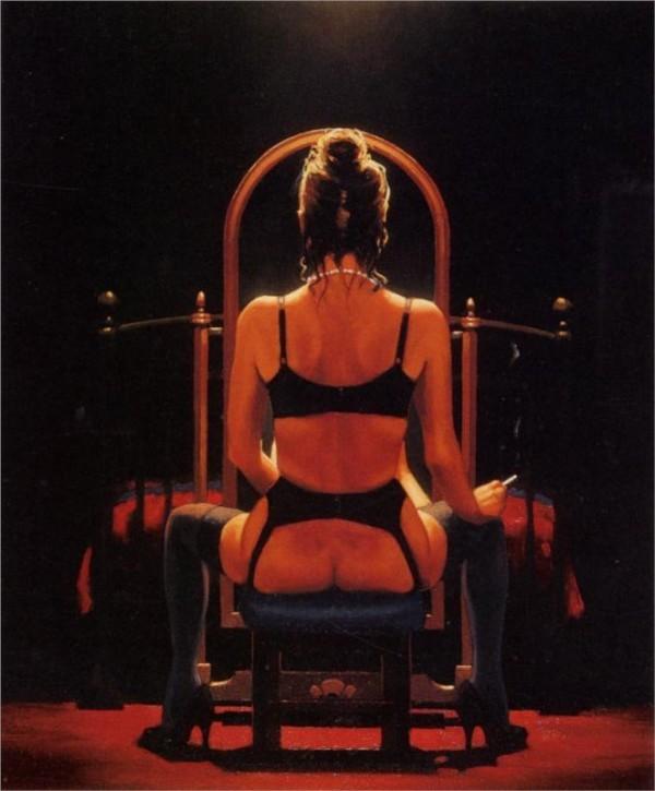 Mirror Mirror, Jack Vettriano