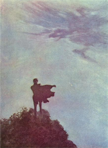 Alone, by Edmund Dulac