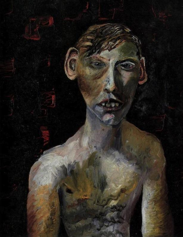 Evacuee Boy by Lucian Freud