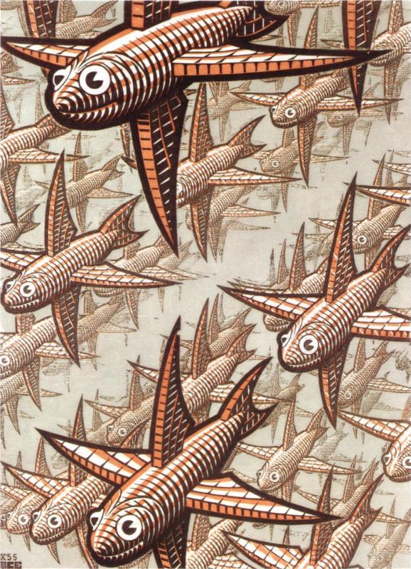 Depth by M.C. Escher