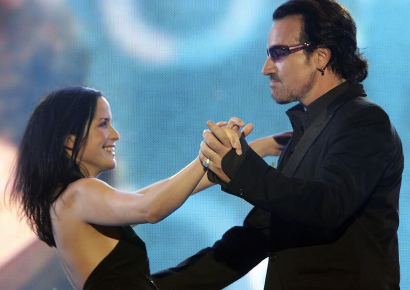 Dancing with Bono