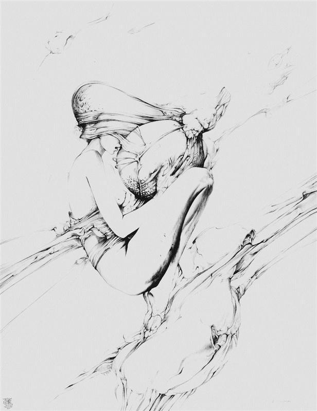 Metaphysics Foetus by Wojciech Siudmak