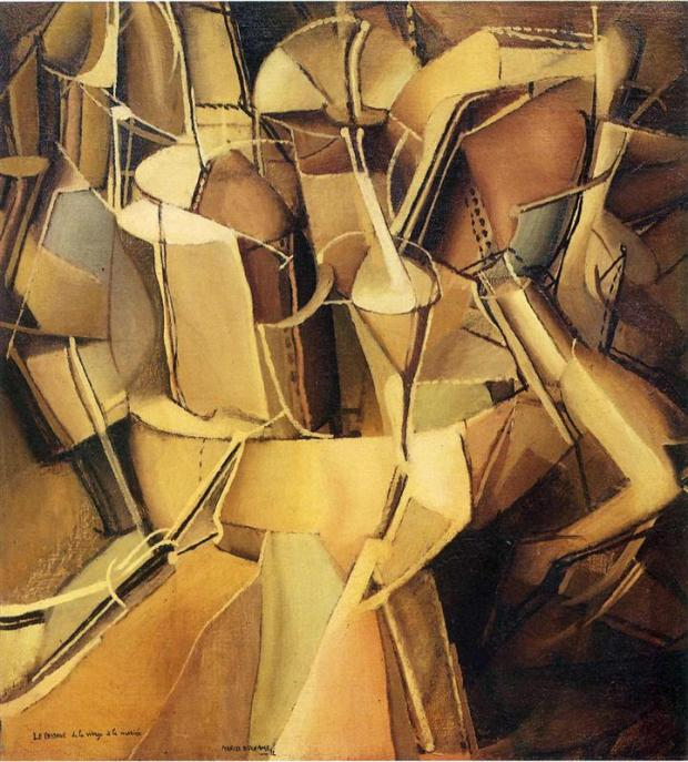 Transition of Virgin into Bride by Marcel Duchamp