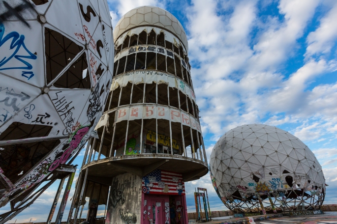 Image: Teufelsberg Abandoned Berlin Street Art-9658 via Abandoned Berlin.